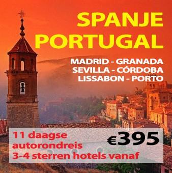 11 daagse autorondreis Spanje & Portugal
