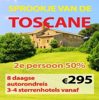 8 daagse autorondreis Sprookje van de Toscane