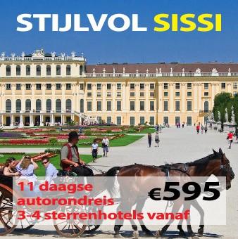 11 daagse autorondreis Stijlvol Sissi