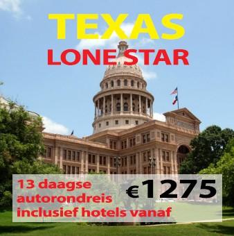 "13 daagse autorondreis Texas ""Lone Star State"""