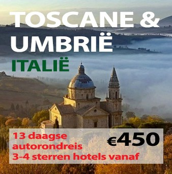 13 daagse autorondreis Toscane & Umbrië