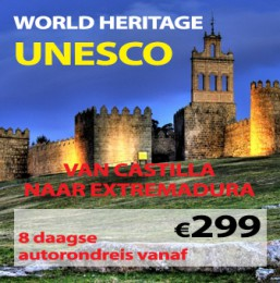 8 daagse autorondreis Spaanse World Heritage UNESCO